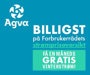 Agva Kraft gir bort en måned gratis strøm - Gratisstart.no